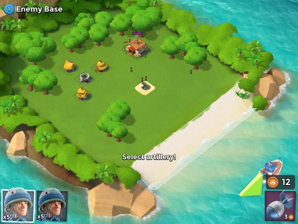 Garde Noire - Enemy Base