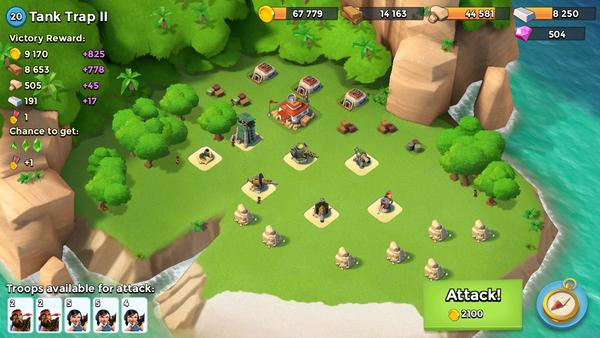 Garde Noire - Tank Trap II